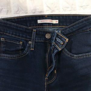 levis 721 high waist jeans